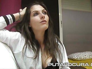 Bionda Trance tirò massaggio erotico porno la sua ragazza con un membro in una chat